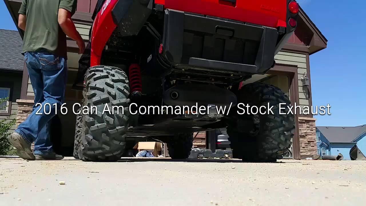 Can-Am Commander /& Commander MAX Yoshimura Slip On Exhaust Muffler ALL YEARS
