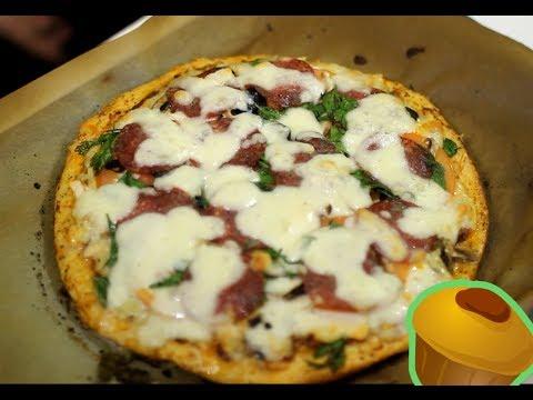 Рецепт мясной и классической пиццы (на тонком и толстом тесте)