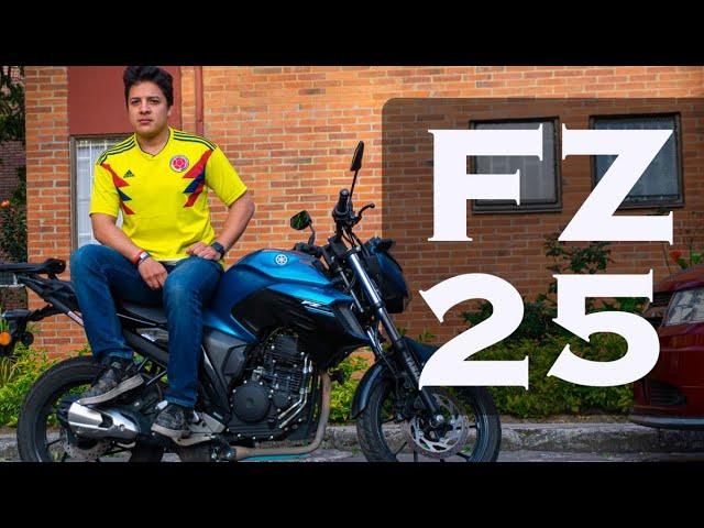 Yamaha FZ 25 | Hablemos De Motos | Cam Daza