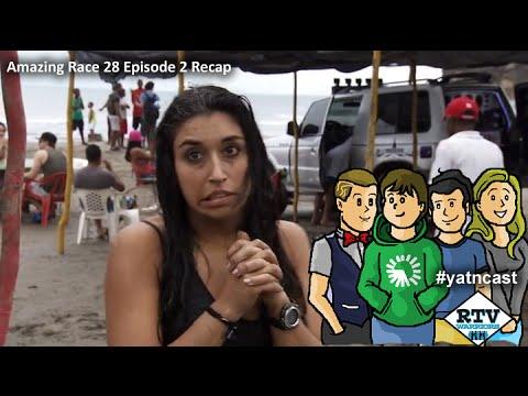 Amazing Race 28 Episode 2 Recap #yatncast #rtvwarriors #amazingrace