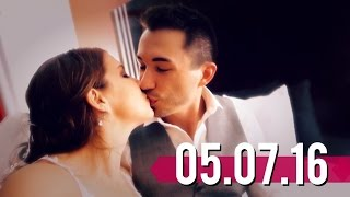OUR WEDDING DAY VLOG!