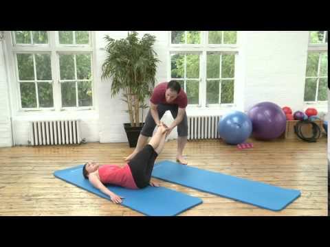 Advanced Corkscrew Pilates Exercise from yoopod.com