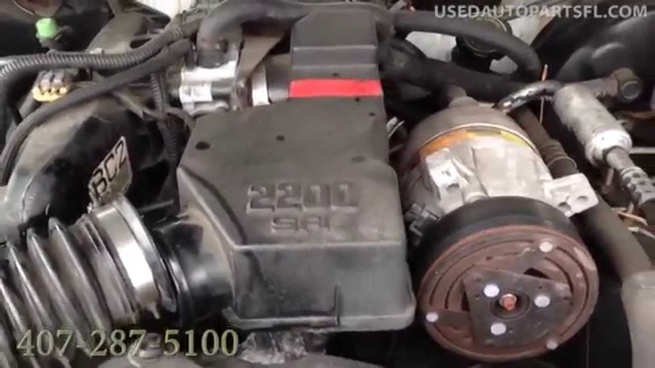 hight resolution of 00 01 02 03 chevy s10 2 2 used engine transmission auto parts orlando junkyard s15 hombre silverado