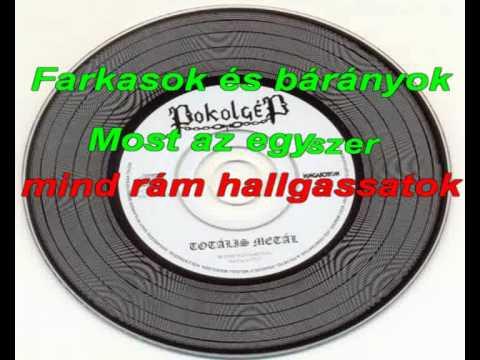 Pokolgép Gépinduló Magyar Karaoke olasz videó letöltés