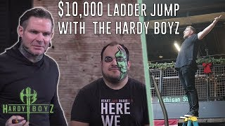 $10,000 Ladder Jump for Charity: The Hardy Boys at PMI thumbnail