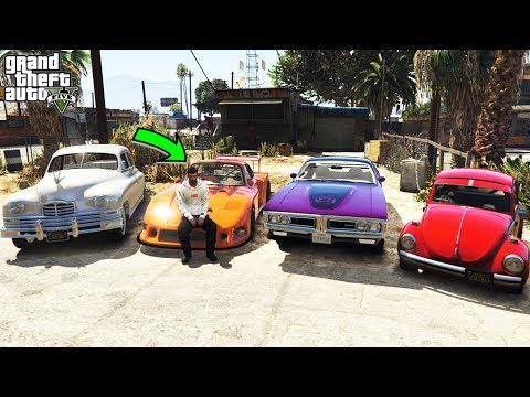 Stealing Luxury Classic Cars With Trevor In GTA 5! (Real Life Cars #1)