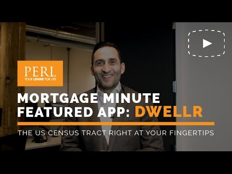 Mortgage Minute //  Dwellr: The US Census Tract Right at your Fingertips