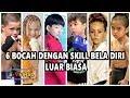 Wow, 6 Bocah Dengan Skill Bela Diri Di Atas Rata - Rata