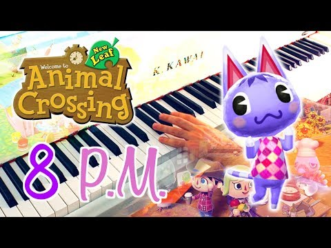 🎵 8PM (Animal Crossing: New Leaf) ~ Piano cover w/ Sheet music!
