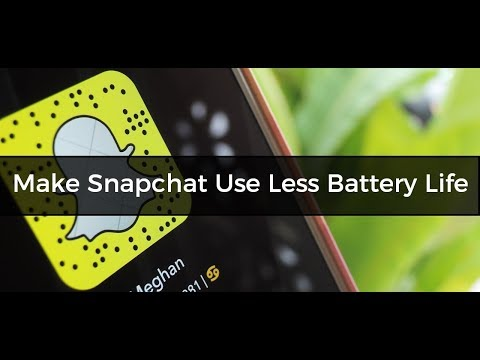 How to Stop Snapchat from Draining Your Phone's Battery and Data
