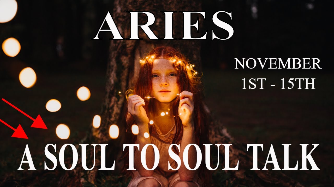 Aries ~ A Ricocheting Tower. A Soul to Soul Talk .. Poof!! ~ Psychic Tarot Reading November (1 - 15)