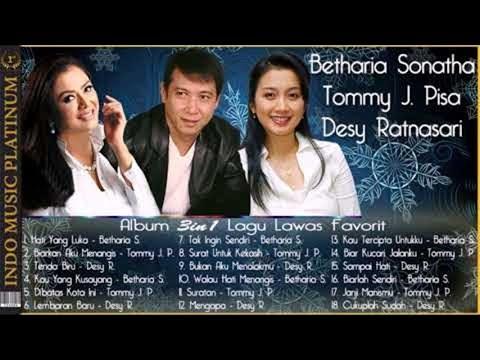 Album 3in1 - Betharia Sonata, Tommy J Pisa & Desy Ratnasari - Lagu Lawas Terfavorit