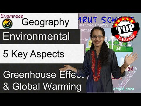 Greenhouse Effect and Global Warming: 5 Key Aspects