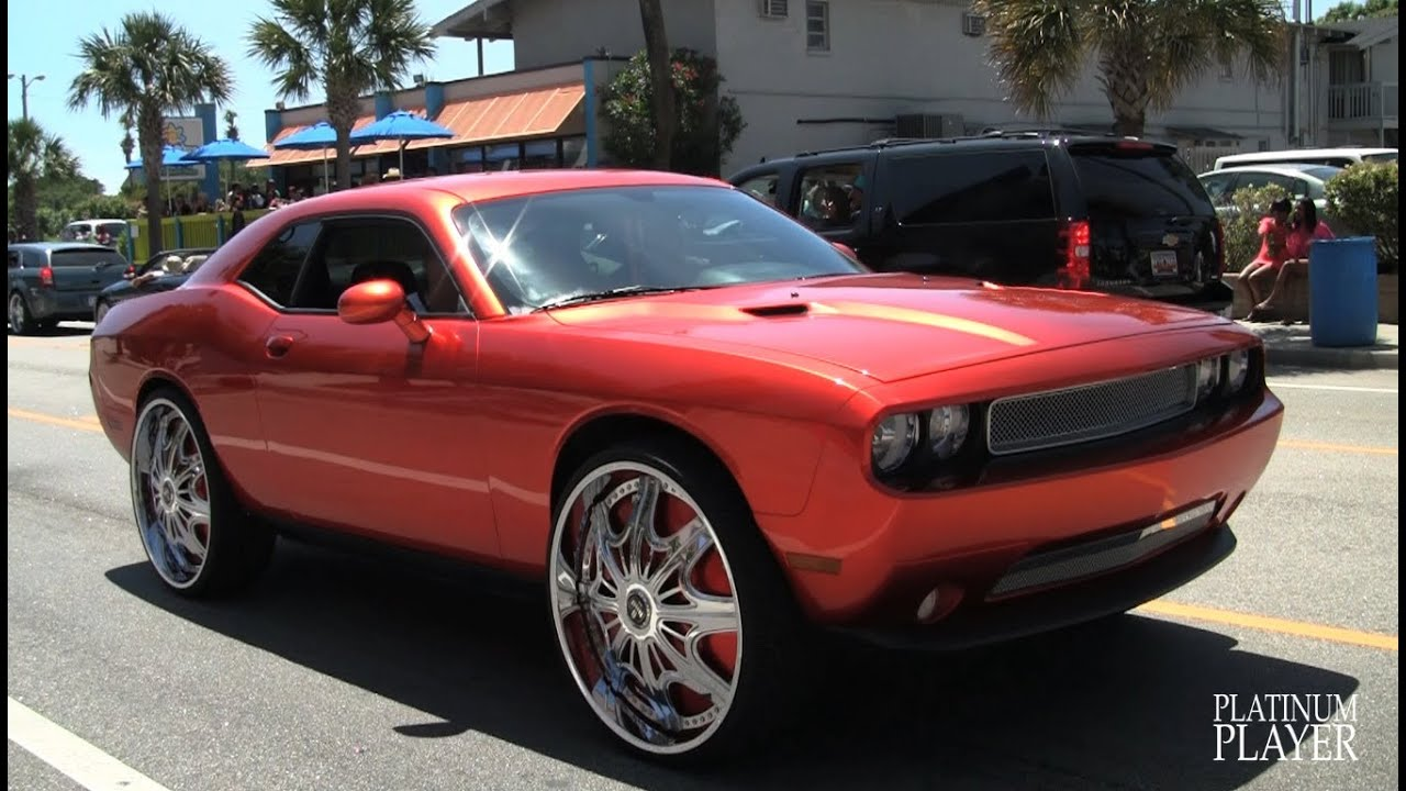 Challenger On 28 Inch Dub Creed Myrtle Beach Youtube