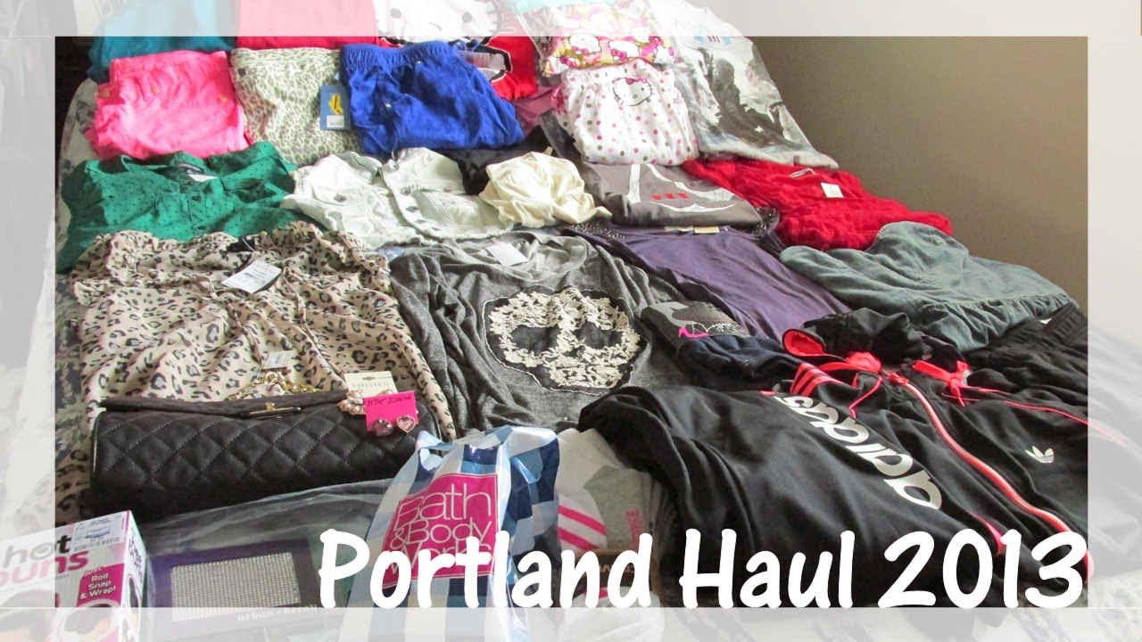 Portland Aritzia Warehouse Sale 2013 Haul Nordstrom Rack