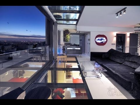 Ultra Modern And Comfortable Parisian Three Level Loft Apartment Review Youtube