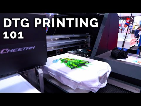 What It Takes To Build The Fastest DTG Printer In The World