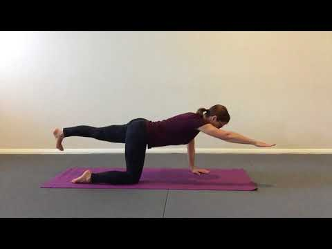 Dynamic kneeling sequence for back and core strength