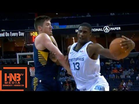 Indiana Pacers vs Memphis Grizzlies 1st Half Highlights | 10.06.2018, NBA Preseason