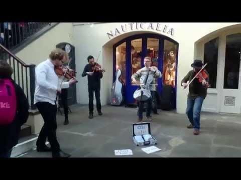 Vivaldi, four seasons, the Summer (Covent Garden) - busking in the streets of London, UK