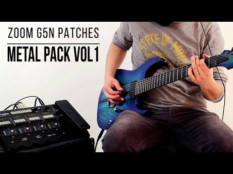 Zoom G5n Patches: Metal Pack vol.1