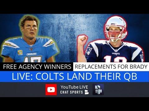 NFL Free Agency: Tom Brady To Bucs, Philip Rivers, Jason Witten + Kevin Durant's Shocking News