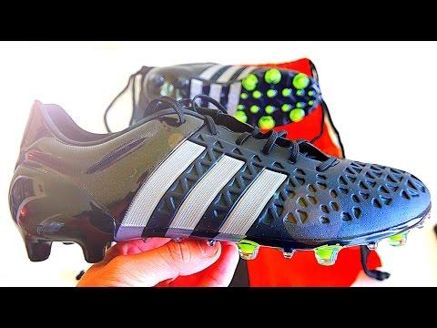 NEW James Rodríguez & Mesut Özil Boots 2015: Adidas Ace 15.1 Reflective Black Unboxing
