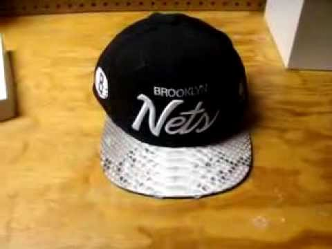 8e29a23f621 Just Don C Hat RSVP Gallery Brooklyn Nets Python Skin Rare - YouTube