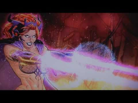 DC Universe Online Circe motion comic