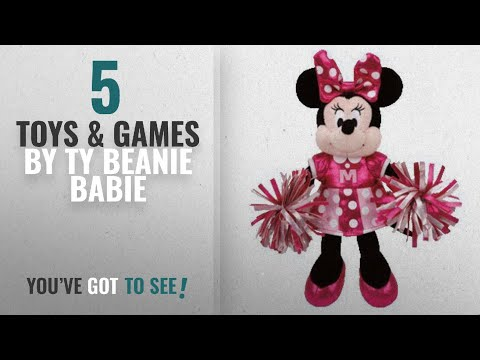 Top 10 Ty Beanie Babie Toys & Games [2018]: Ty Beanie Babie Minnie Mouse Cheerleader 8