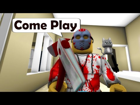 I turned into JASON VOORHEES in Roblox BrookHaven