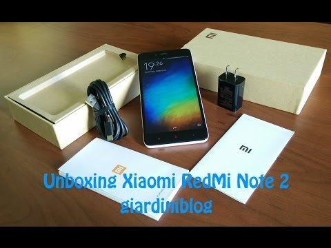 Unboxing Xiaomi RedMi Note 2