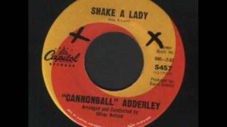Cannonball Adderley - Shake a lady - Soul.wmv