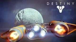 Destiny #01: Explorando a Lua - Primeira Gameplay HD 1080p - Xbox One