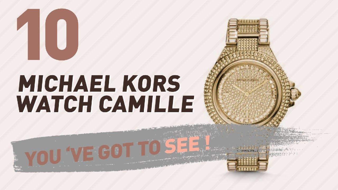 b30b21e07b85 Michael Kors Watch Camille    New   Popular 2017 - YouTube
