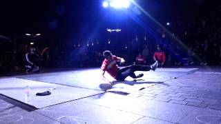 BBOY KINDER (UKRAINE) VS BBOY ROLAND (FRANCE) - 1/4 FINAL CAPITOLIUM 2014