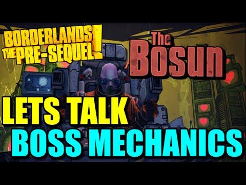 Borderlands The Pre-Sequel: Bosun Fight and Talking About Future Mechanics in Borderlands
