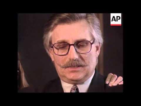 USA: FRED GOLDMAN PRESS CONFERENCE ON OJ SIMPSON TRIAL