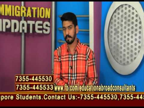 Immigration Updates With Education Abroad Consultants    May 14,2016