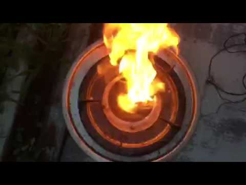waste cooking oil stove