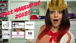 Here are my 2015 makeup favorites! From concealer, to liquid lipsti...