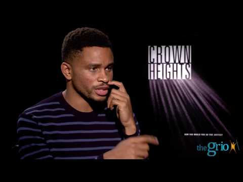 "Nnamdi Asomugha describes how being a producer on ""Crown Heights"" helped his acting"
