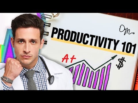 Productivity 101: Tips On How To Be Massively Productive | D