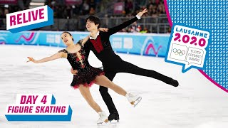 RELIVE  Figure Skating  Ice Dance Free  Day 4 | Lausanne 2020