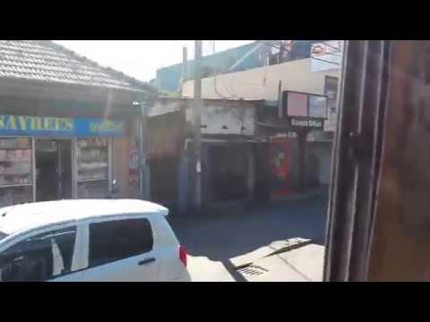 Bus ride from Ratmalana Railway Station to Mount Lavinia, Sri Lanka