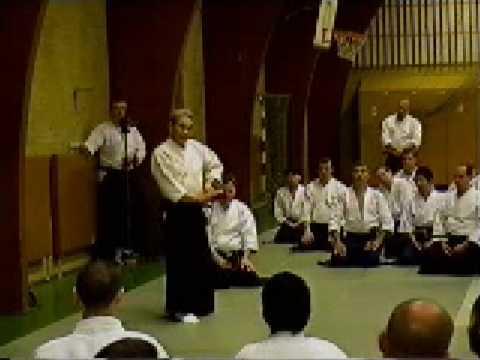 Shoji Nishio Aikido Toho Iai 02 Ukenagashi Ikkyo