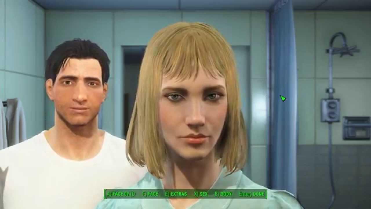 Fallout 4 frisuren andern