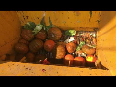 Food Waste Shredder,Organic Waste Recycling Line