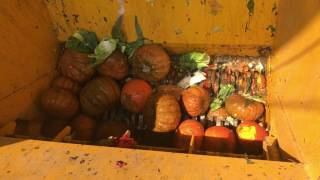 Food Waste Shredder,Organic Waste Recycling Line