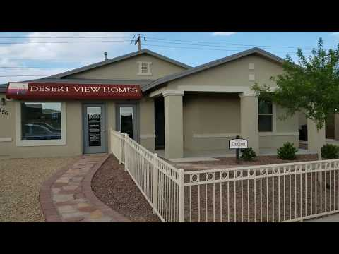 Desert View Home For Sale In El Paso TX Brand New At Affordable Price